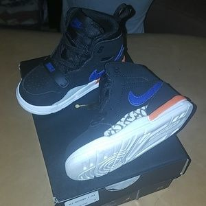 Jordan toddler 7c black/blue/orange